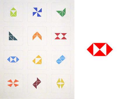 Logo tangrams | Logo Design Love | Identité des marques | Scoop.it