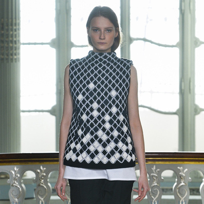 3D-printed fabrics woven into Pringle of Scotland's AW14 garments | 3D Printing and Fabbing | Scoop.it