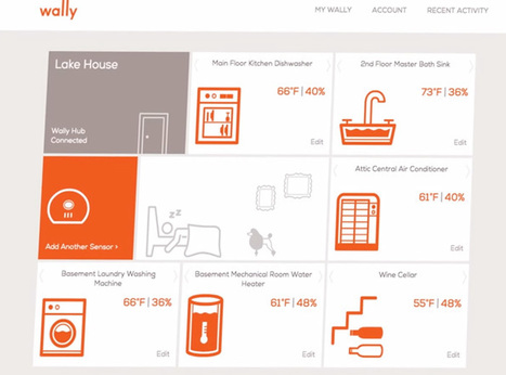 Wally Home: un object connecté qui détecte les fuites d'eau | Veille Design Interactif | Scoop.it