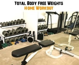 Total Body Free Weights Workout From Home | justin kavanagh Fitness | Scoop.it