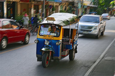 Transports insolites dans le monde : Tuk-tuk - Routard.com | Destination | Scoop.it