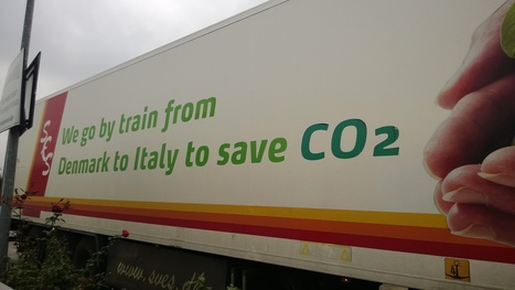 La Green Economy viaggia in treno | Offset your carbon footprint | Scoop.it