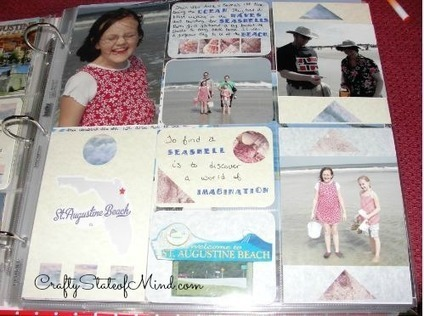 Project Life Scrapbooking Organization - Crafty State of Mind | Scrapbooking | Scoop.it