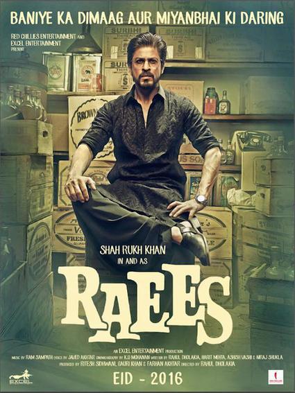 Shah Rukh Khan Raees 2016 Teaser Trailer & Posters | Latest Video Songs | Scoop.it