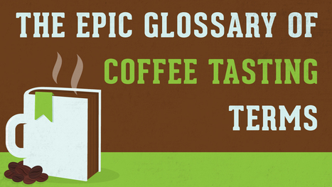 (EN) - The Epic Glossary of Coffee Tasting Terms | roastycoffee.com | glossary | Scoop.it