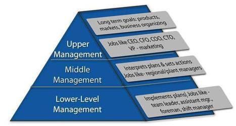 Management Levels: A Hierarchical View - Boundless Open Textbook   Management 307   Scoop.it