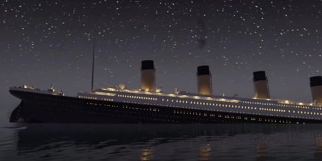Watch Titanic Sink In Real Time In Eerie Animated Recreation | Navigate | Scoop.it