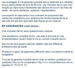 Comparateur Mutuelle - mutuelleseniors1.over-blog.com | mutuelleseniors.net | Scoop.it