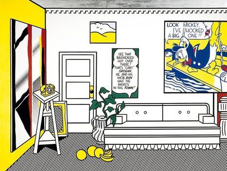 #300 ❘ Atelier de l'artiste «Look Mickey» ❘ 1973 ❘ Roy LICHTENSTEIN | Enseigner le français au secondaire | Scoop.it