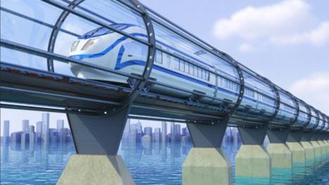 Hyperloop, le transport du futur d'Elon Musk, est en train de voir le jour !   Think outside the Box   Scoop.it