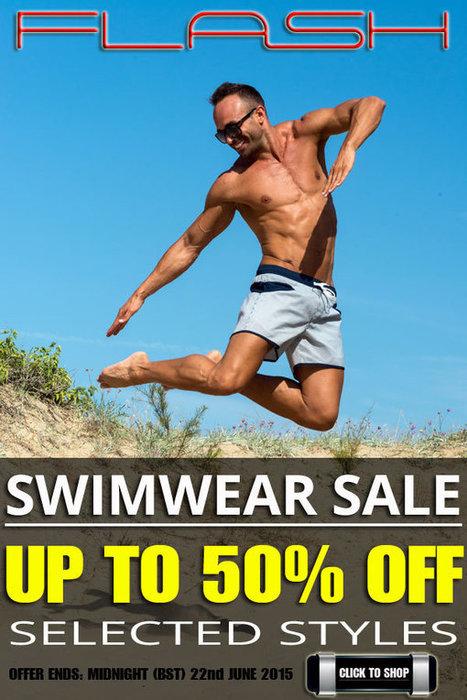 Flash Men's Swimwear Sale – up to 50% OFF selected styles | Men's Underwear and Swimwear Blog | www.concupisco.com - Mens Underwear and Swimwear | Scoop.it