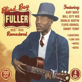 Blind Boy Fuller - Profile of Piedmont Blues Guitarist Blind Boy Fuller | The Blues | Scoop.it