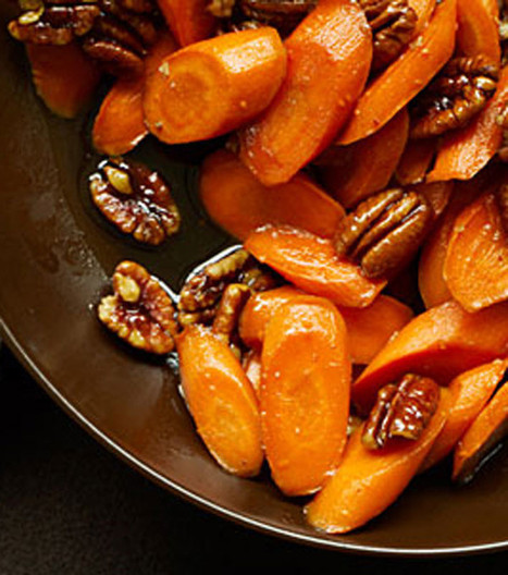 Glazed Carrots with Pecans | MakeYourRecipes | Recipes | Scoop.it