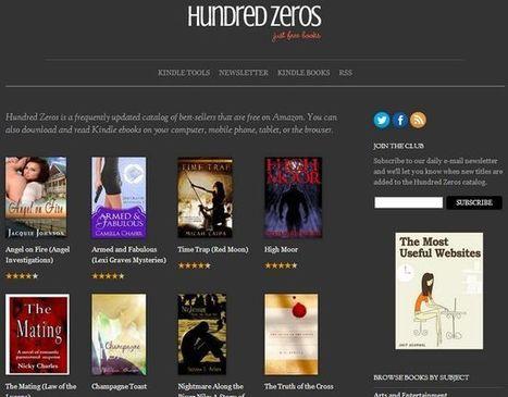 Hundred Zeros te muestra miles de eBooks gratis de Amazon organizados por tema e idioma   Sitios y herramientas de interés general   Scoop.it