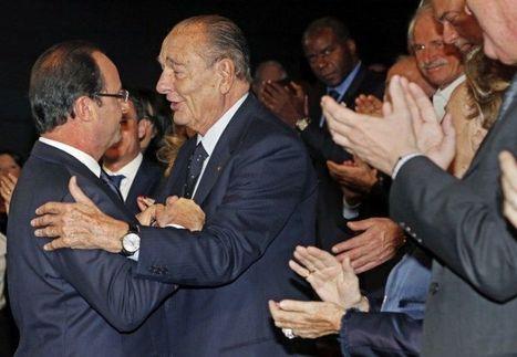 Au Quai-Branly, l'hommage intime de Hollande à Chirac | Libération | Kiosque du monde : A la une | Scoop.it