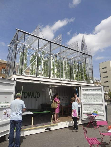 Grow Up, Urban Farming: Aquaponics Takes on London | design affects | IOT | Scoop.it