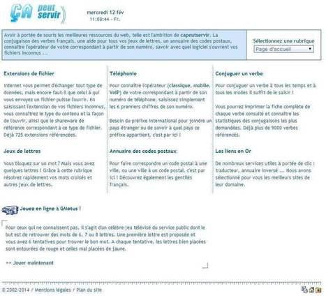Un site à tout faire, Ça peut servir | netnavig | Scoop.it