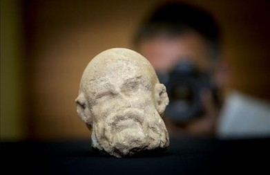 Descobert un cap romà de marbre a la Sagrera | LVDVS CHIRONIS 3.0 | Scoop.it