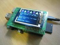 "Raspberry Pi projects : Adafruit/SainSmart 1.8"" TFT LCD : st7735fb driver 