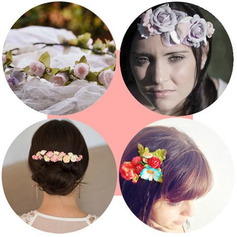 Alternativas al velo: Tocados, flores y peinados de lujo | Enlaces maravillosos | Scoop.it