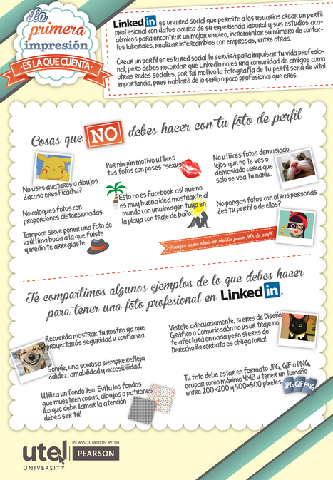 Linkedin: la primera impresión es la que cuenta #infografia #infographic #socialmedia | Seo, Social Media Marketing | Scoop.it