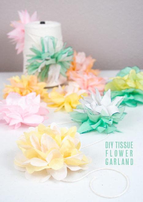 Printemps et fleurs de papier | Déco fait maison, récup, upcycling, jardinage | Scoop.it