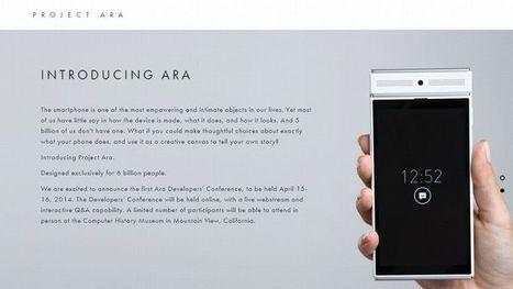 Un smartphone customisable de A à Z mythe ou bientôt une réalité?   It News and new devices   Scoop.it
