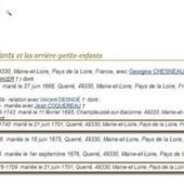 Mariage de Germains | GenealoNet | Scoop.it