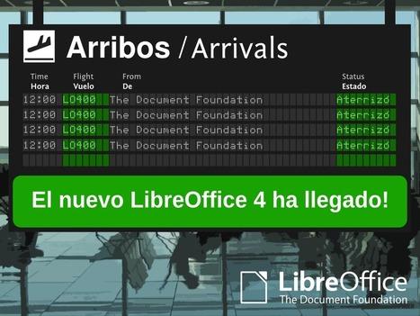 Arriba LibreOffice 4.0, la suite ofimática libre que la comunidad ha estado soñando por 12 años | Recursos de ofimática | Scoop.it
