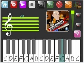 Apps in Education: PianoPad - Keyboard App with great features | TIC, educación y demás temas | Scoop.it