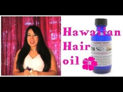 Hawaiian natural beauty secrets for hair care   Health Medical Beauty Fitness   Scoop.it