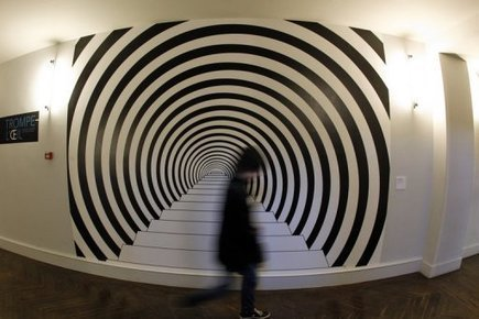 Paris museum features art designed to trick the eye | AUDITORIA, mouseion Broadband | Scoop.it