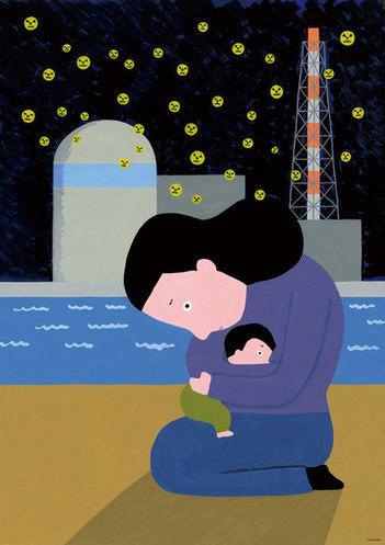 Makoto Wada : Untitled   Artworks   Tokyo Illustrators Society (TIS)   Japan Tsunami   Scoop.it