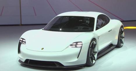Porsche Mission E Concept 2015 : la berline électrisante du Salon de Francfort   Luxe & Luxury   Scoop.it
