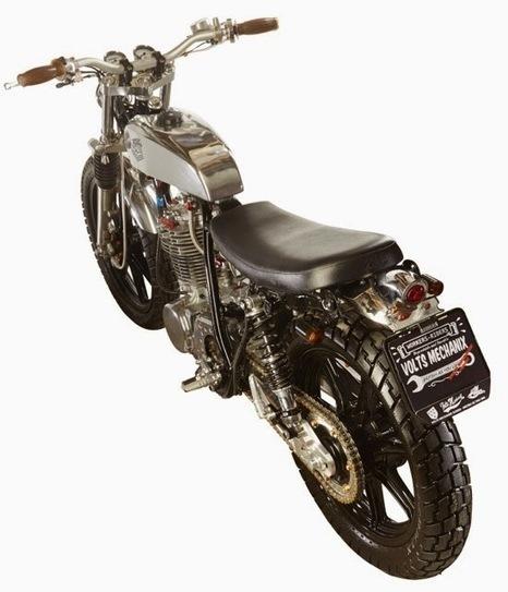 Custom Yamaha SR500 | Volts Mechanix - Grease n Gasoline | Latest News | Scoop.it