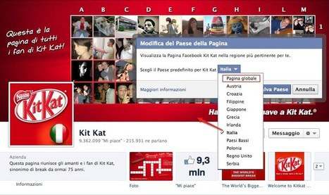 Le nuove Global Pages di Facebook | Homo Cyberneticus | Scoop.it
