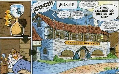 Hortus Hesperidum / Ὁ κῆπος Ἑσπερίδων: El tiempo en Astérix y Obélix II. Clepsidras. | Mundo Clásico | Scoop.it