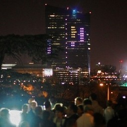 Tetris played against a skyscraper will set new world record | Insert Coin - Gaming | Scoop.it