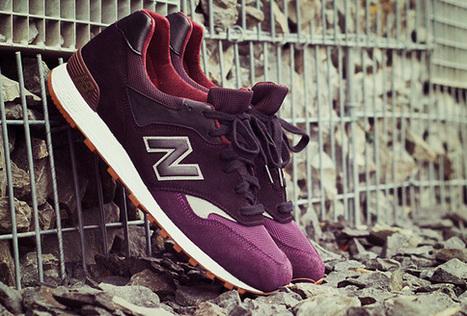 2 dye for suede x new balance 577 'purple punch' custom - Sneakers | Sneakers_me | Scoop.it