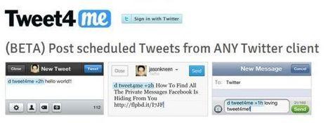 Tweet4me – programando tweets desde cualquier cliente de Twitter   Social Media e Innovación Tecnológica   Scoop.it