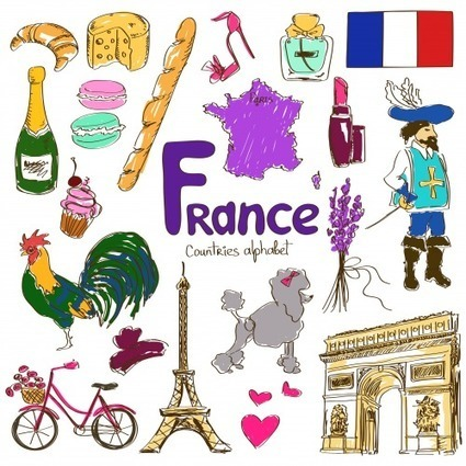 France Culture Map Printable | FLE enfants | Scoop.it