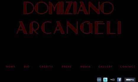 Official Website of Domiziano Arcangeli | FRESH | Scoop.it