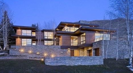 39 maison pierre 39 in construire tendance - Maison bois et pierre ...