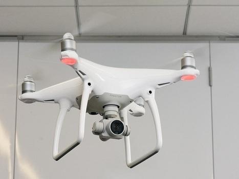 Phantom 4 de DJI, un drone plus sécurisant qui évite les obstacles - CNET France | 694028 | Scoop.it