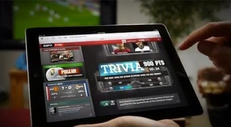 ESPN Sync brings dedicated real-time sports coverage to the second screen | Social TV is everywhere | Scoop.it
