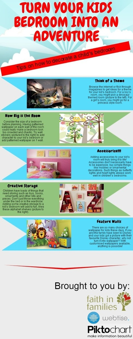 Turn Your Kids' Bedroom into an Adventure | Life : creating yourself | Scoop.it