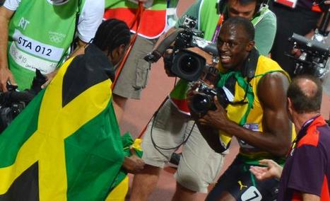 Usain Bolt Took a Bunch of Photos with a Swedish Guy's Camera. Who Owns the Rights to the Sprinter's Snapshots? | London Olympics 2012 controversies | Scoop.it