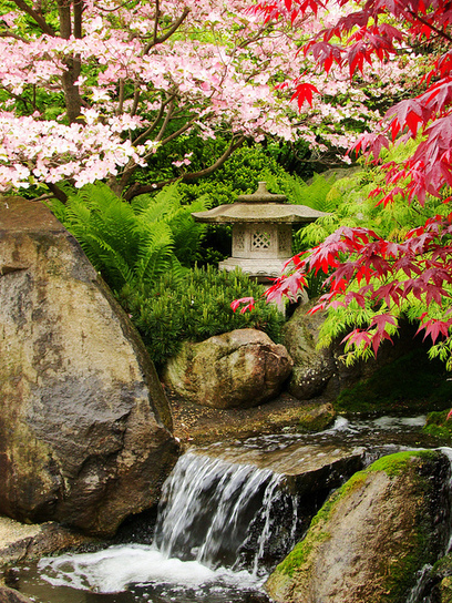 visitheworld: Anderson Japanese Gardens in... | Japanese Gardens | Scoop.it