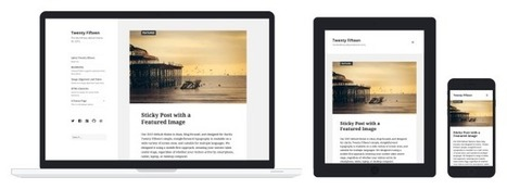 Créer un site avec WordPress : Tutoriel 2015 | L'e-école | Scoop.it