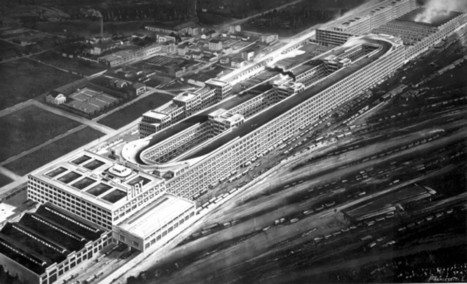 Le circuit sur le toit de l'usine Fiat Lingotto à Turin | GenealoNet | Scoop.it